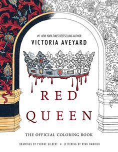 RED QUEEN COLORING BOOK - Cover Reveal via Epic Reads