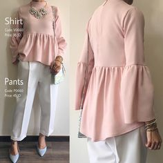 Shirt: Sold Out (تشكيلة رمضان والعيد) بلوزة بقصة و لون و خامة صيفية بسيطة و أنيقة منسقة مع بنطلون مميز من تصميم غادة عثمان.. Available Sizes: S & M الطلب و الاستفسار- وتساب: 00962787911119 00962795756560 #ghadashop #turban #turbans #accessories @ghadaaccessories #instahijab #hijab #fashion #hijabfashion #jeans #instafashion #casual #stylish #veildgirls #ladies #dress #skirt #shirt #pearl #modesty #abaya #cardigan #skirt #classy #vintage #designs #newcollection