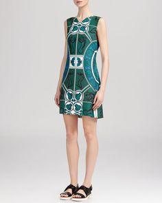Whistles Medallion Print Dress
