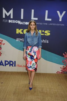 BEST LOOK: Olivia Palermo w Mily for Kohl's - Vumag
