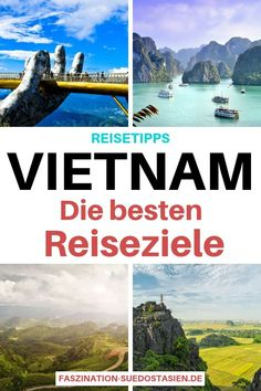 The best travel tips for Vietnam - find out more about the most beautiful . - The best travel tips for Vietnam – find out more about the most beautiful travel destinations and - Europe Destinations, South America Destinations, South America Travel, Europe Travel Tips, Asia Travel, Solo Travel, Vietnam Voyage, Vietnam Travel, Thailand Travel