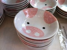 Pig bowls! I have several of these. Yes I'm an adult. Anything piggie related - from pig products to animal photos! I like pigs