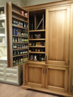 10 Charming Stand Alone Pantry Cabinet Picture Inspirations More