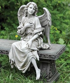 Look at this Heartfelt Angel Garden Statue on #zulily today!