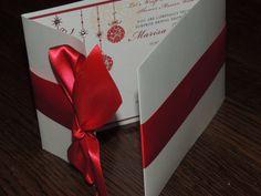 Christmas Wedding Invitation // Holiday by MagicBeyondMidnight, $7.00