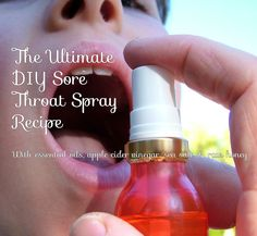 This spray is absolutely fantastic for sore throats. Not only does it soothe an irritated throat, it helps to reduce inflammation and kill bacteria. Essential Oil Spray, Essential Oils For Headaches, Doterra Essential Oils, Essential Oil Blends, Doterra Blends, Yl Oils, Oils For Sore Throat, Sore Throat And Cough, Sore Throat Remedies