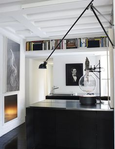 Source: Ngoc Minh Ngo Compact contemporary kitchen with a chem lab feel? Does it for me!