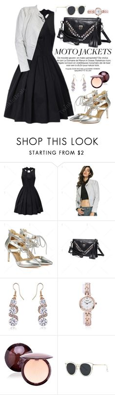"""""""Moto Jacket"""" by oshint ❤ liked on Polyvore featuring vintage, awesome, amazing, fabulous, wonderful and twinkledeals"""