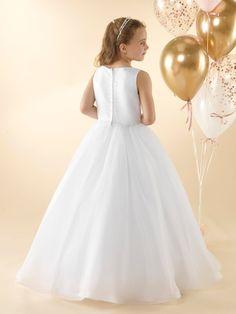 LWCD43 Communion Dress Holy Communion Dresses, First Holy Communion, Girls Dresses, Flower Girl Dresses, Little White, Holi, Bodice, Princess, Wedding Dresses
