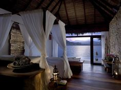 In Cambodia's Koh Rong archipelago, some fifteen miles south of the mainland city of Sihanoukville, this private island resort endows the Gulf of Thailand with nine overwater bungalows (and 18 island villas), all characterized by an understated Asian aesthetic that feels glamorous yet unfussy. Perfect the art of doing nothing from your private swimming pool, peering at the cerulean waters, and cross the footbridge to neighboring island Koh Bong, to hike the nature trails and search for the…