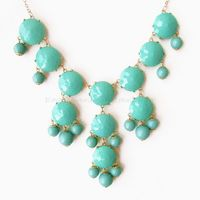 Aqua / Turquoise - Big Size Faceted.. on Luulla