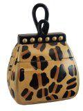 Leopard Print Ceramic Handbag Cookie Jar