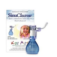SinuCleanse. A great way to fight congestion in kids with NO medicine.