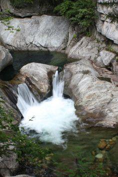 a natural waterpark! Warren Falls, South Warren, VT