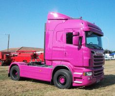 SCANIA PINK