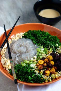 Sojafrei, glutenfrei und vegan ist diese #Buddha #Bowl. Einfach, lecker und gut! Make your own!