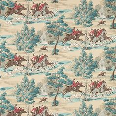 Sanderson - Traditional to contemporary, high quality designer fabrics and wallpapers | Products | British/UK Fabric and Wallpapers | Tally Ho (DVIN214597) | Vintage 2 Wallpapers