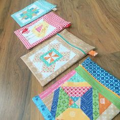 Bee In My Bonnet: Farm Girl Friday - Week 20 - Quilty Zip Pocket Tutorial--very detailed, step-by-step zipper instructions. Fabric Crafts, Sewing Crafts, Tape Crafts, Quilting Projects, Sewing Projects, Bee In My Bonnet, Pouch Tutorial, Girls Quilts, Quilted Bag