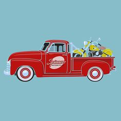 1953 Chevy Pickup Truck with 1953 Indian Chief Roadmaster