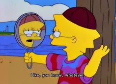 Lisa Simpson hipster