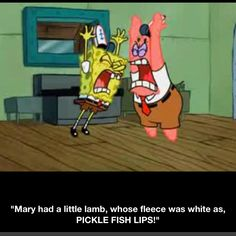 My most favorite part of all episodes of Spongebob ever!