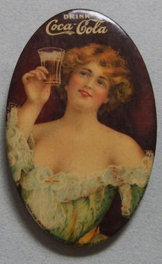 VERY RARE 1907 COCA COLA CELLULOID ADVERTISING POCKET MIRROR BEAUTIFUL GIRL MINT | Collectibles, Advertising, Merchandise & Memorabilia | eBay!