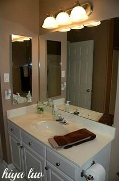 Our bathroom make over #CGC #CleanHands