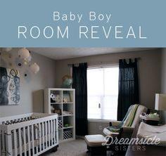 This layout seems to work perfect for the bedroom we'll use for the baby.