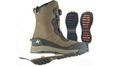 Korkers winter boots feature interchangeable outsoles $149.96