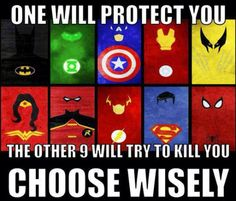 Every on goes crazy comment below!! Who yo would pick?? (Batman,green lantern captain america ect.
