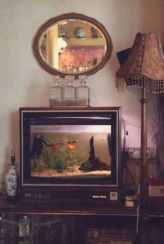 love this idea of upcycling an old tv