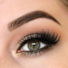 20 Amazing Eye Makeup Pictures To Inspire You ❤ liked on Polyvore featuring beauty products, makeup, eye makeup, eyes and beauty