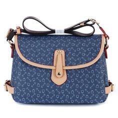 Women Vintage PVC Crossbody Bag Classic Shoulder Bag