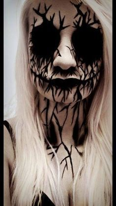 images for ghoul makeup - Google Search