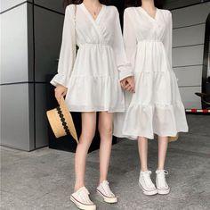 Korean Girl Fashion, Korean Fashion Trends, Ulzzang Fashion, Korea Fashion, Cute Fashion, Asian Fashion, Classy Fashion, Vintage Fashion, Kpop Fashion Outfits