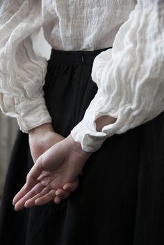 Sibylle Linen Gauze Shirt - White