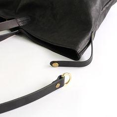 Ense(アンサ)レザー 2wayトートバッグ L Pens-309/ブラック 05