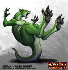 Kaiju Combat - Duncan by KaijuSamurai on DeviantArt Weird Creatures, Fantasy Creatures, Giant Monster Movies, Arte Grunge, Godzilla Franchise, Hybrid Art, Cool New Gadgets, Pokemon, Creature Concept