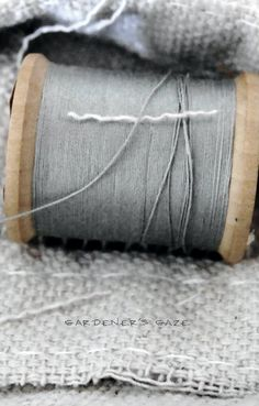 Spool of Thread - Neutral Colors: Gray and Brown Applique Vintage, Vintage Sewing, Neutral Colors, Gray Color, Gris Taupe, Touch Of Gray, Gray Matters, Grey Skies, Fifty Shades Of Grey