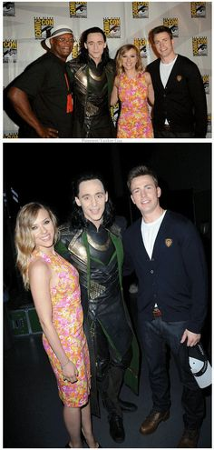 Avengers Cast ....   Captain America: The Winter Soldier & Thor: The Dark World
