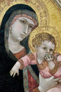 Medieval Madonna and Child