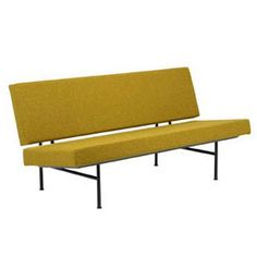 André R. Cordemeyer Gispen 1712 Sofa - Sofa with removable covers from the 'Furniture for a Modern Interior' collection designed by André R. Mid-century Interior, Modern Interior, Interior Design, Sofa Bench, Sofa Chair, Sofa Furniture, Furniture Design, New Home Designs, Mid Century Furniture