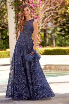 Mother of the Bride Dresses by Montage Mob Dresses, Pageant Dresses, Wedding Dresses, Wedding Attire, Formal Dresses, Mother Of The Bride Dresses Long, Mothers Dresses, Mother Bride, Lace A Line Dress