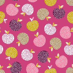 PRE ORDER Retro Orchard Tossed Apples FQ