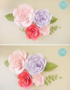 페이퍼꽃 만드는 방법 종이꽃 만들기 도안 : 네이버 블로그 Diy And Crafts, Crafts For Kids, Paper Crafts, Paper Flowers Diy, Kids And Parenting, Reception, Cricut, Bows, Engagement