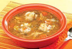 Chicken and dumpling soup - Penzey's recipe