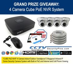 Win a Surveillance System from CCTV Security Pros! $1,359.99 Value! http://virl.io/GdbbGWLF Ends 9/18