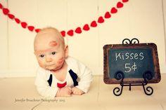 Jennifer Bruckner Photography// Apple Valley, MN #infant photography, #child photography, #valentines day picture idea