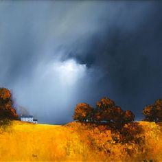 For love of art: Barry Hilton Watercolor Landscape, Landscape Art, Landscape Paintings, Watercolor Art, Art Sculpture, Art For Art Sake, Contemporary Landscape, Amazing Art, Scenery