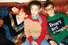 EXO-CBX / First sub-unit / Teaser Images / Chen, Baekhyun, Xiumin / Order in photo: Baekhyun, Xiumin, Chen / Source: EXO Official Website